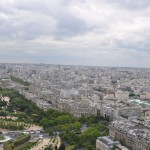 Utsikten från Eiffeltornet