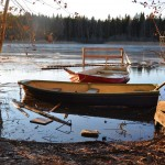 Båtarna och bryggan