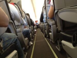 På flyget till Rom med Norwegian