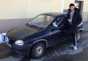 Opel corsa såld i heby 95