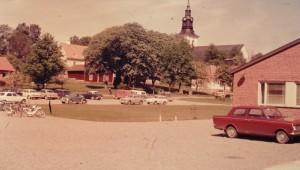 Gammal bild på Heby Skola