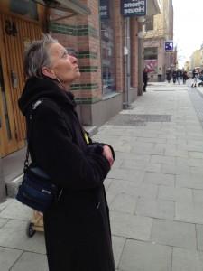 Kvinna i Uppsala