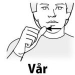 vår teckenspråk iblogg.nu
